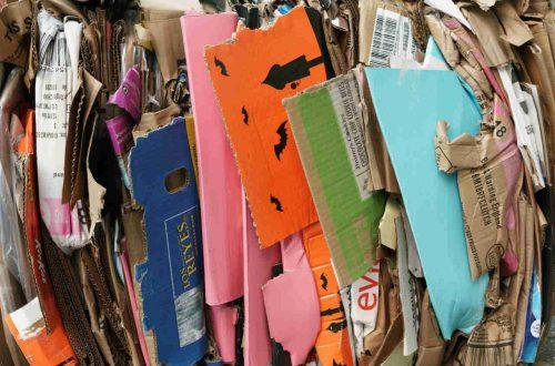 recyclen van afval